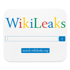 WikiLeaks Search Mouse pad - Mouse pad Horizontal