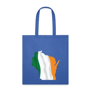 Wisconsin Irish - Tote Bag