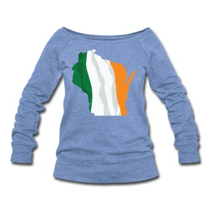 Wisconsin Irish - Women's Wideneck Sweatshirt