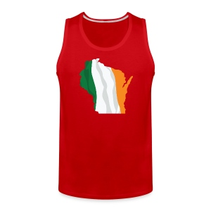 Wisconsin Irish - Men's Premium Tank