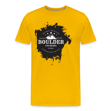 boulder colorado rock climbing t shirt spreadshirt