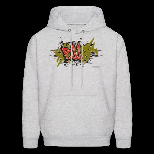 Jiu Jitsu BJJ Graffiti - bw TD Hoodie - Men's Hoodie