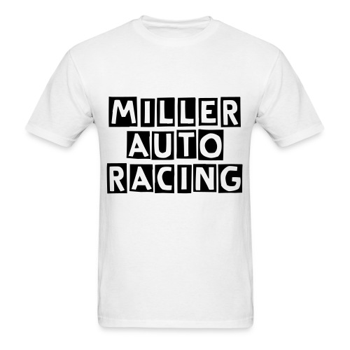 Miller Auto Racing T-Shirt W/ Cutter Lettering - Men's T-Shirt
