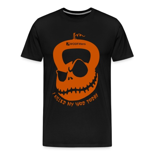 I Killed my WOD Halloween - Men's Premium T-Shirt