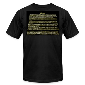 Genesis 1 - Men's T-Shirt by American Apparel