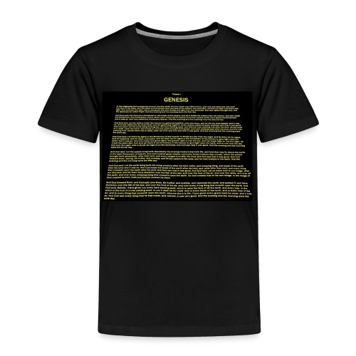 Genesis 1 - Toddler Premium T-Shirt
