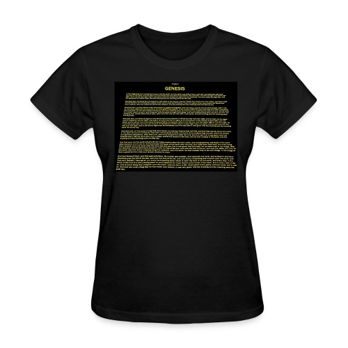 Genesis 1 - Women's T-Shirt