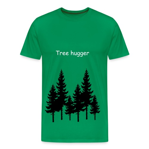 MEN TREE HUGGER - Men's Premium T-Shirt