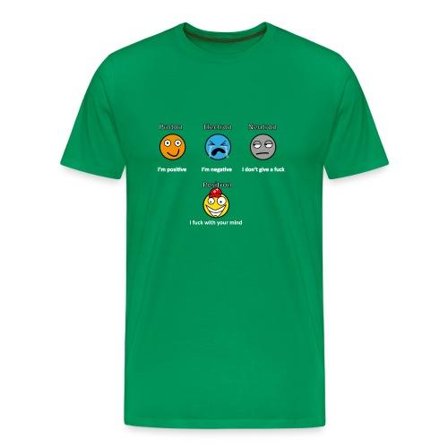 Electron Proton Neutron - Upgrade - Men's Premium T-Shirt