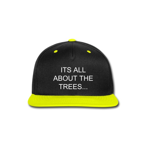 TREE TOP FLAT CAPS?!?!?!!?!? - Snap-back Baseball Cap