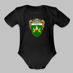 O'Reilly Coat of Arms - Short Sleeve Baby Bodysuit