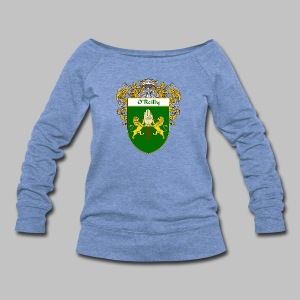 O'Reilly Coat of Arms - Women's Wideneck Sweatshirt