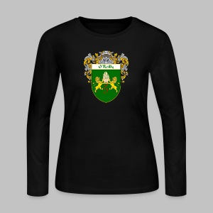 O'Reilly Coat of Arms - Women's Long Sleeve Jersey T-Shirt