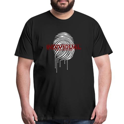 individual - white - Men's Premium T-Shirt