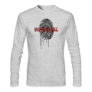 individual - black - Men's Long Sleeve T-Shirt by Next Level