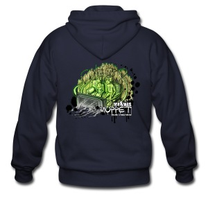 mr & mrs muppet - Men's Zip Hoodie