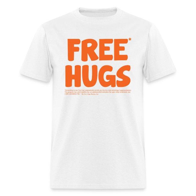 73788061 Mr. Lovenstein T-Shirt Kiosk   Free* Hugs T-Shirt - Mens T-Shirt