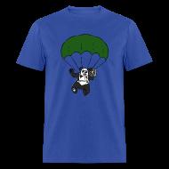 T-Shirts ~ Men's T-Shirt ~ Rock and Roll Panda Boombox T