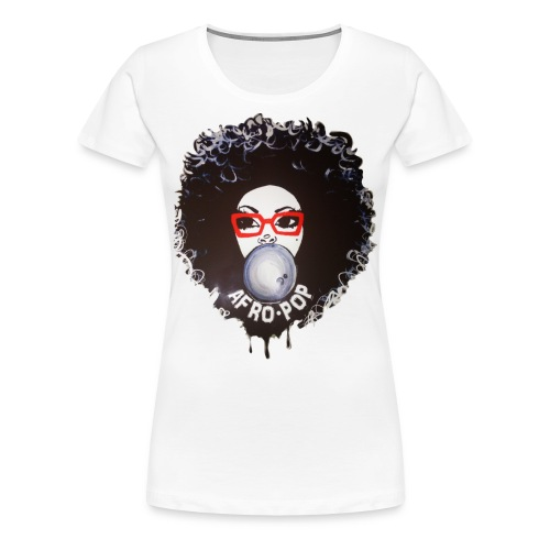 Afro Pop - Women's Premium T-Shirt