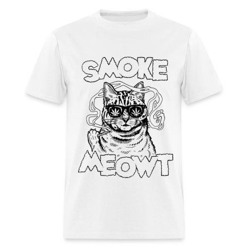 SMOKE MEOWT T-SHIRT (M) - Men's T-Shirt