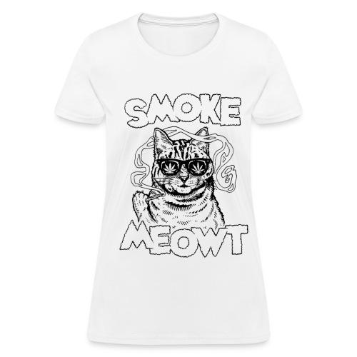 SMOKE MEOWT T-SHIRT (W) - Women's T-Shirt