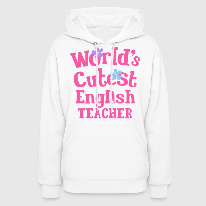 English Teacher Cute Gift Hoodies - Women's Hoodie