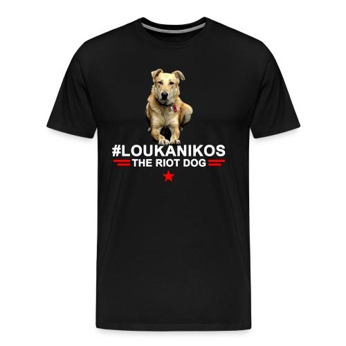 Loukanikos The Riot Dog T-shirt - Men's Premium T-Shirt