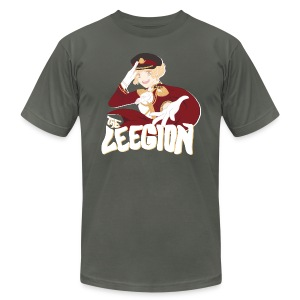 Leegion Shirt (Design on Front) - Men's T-Shirt by American Apparel