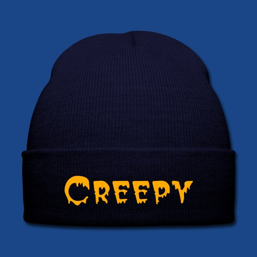 HALLOWEEN SPECIAL KNIT CAP  - Knit Cap with Cuff Print