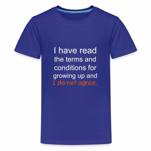 I Have Read the Terms Kids' Premium T-Shirt - Kids' Premium T-Shirt