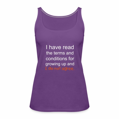I Have Read the Terms Women's Premium Tank Top - Women's Premium Tank Top