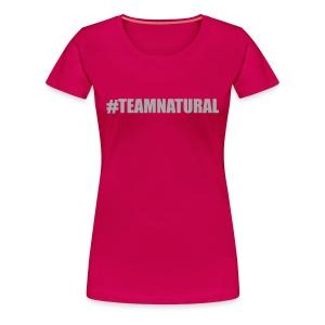 #TeamNatural - Bling Tee  - Women's Premium T-Shirt
