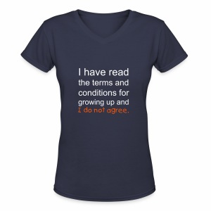 I Have Read the Terms Womens V-Neck - Women's V-Neck T-Shirt