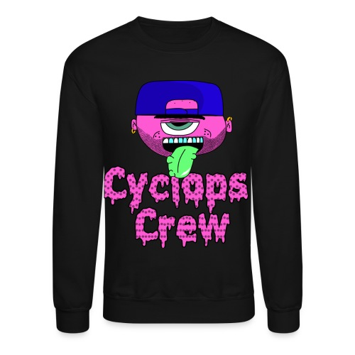 Men's Cyclops Crew Head Crewneck - Crewneck Sweatshirt