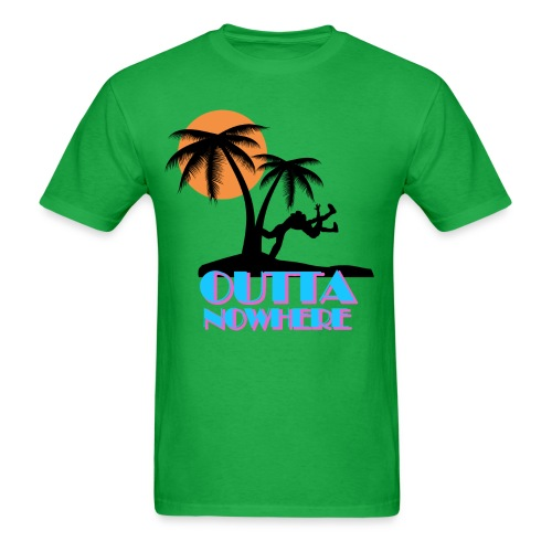 Outta Nowhere - Men's T-Shirt