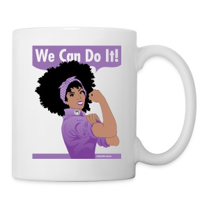 Domestic Violence Awareness Month: Naturally Revolutionary cup/mug - Coffee/Tea Mug