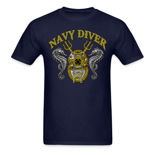 Navy Diver Master - Men's T-Shirt