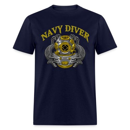Navy Diver 1st Class - Men's T-Shirt