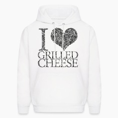 I love grilled cheese Hoodies