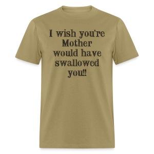 Mother Swallowed - Men's T-Shirt