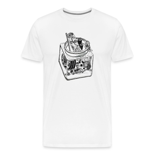 MEN's Athlete Jar - Men's Premium T-Shirt