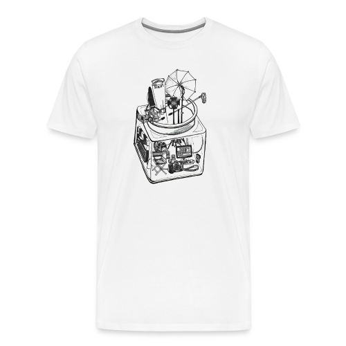 MEN's Filmer/Photographer Jar - Men's Premium T-Shirt