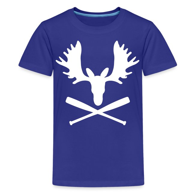sports shoes b3f94 92b7a Mike Moustakas Moose Shirt   Kids' Premium T-Shirt