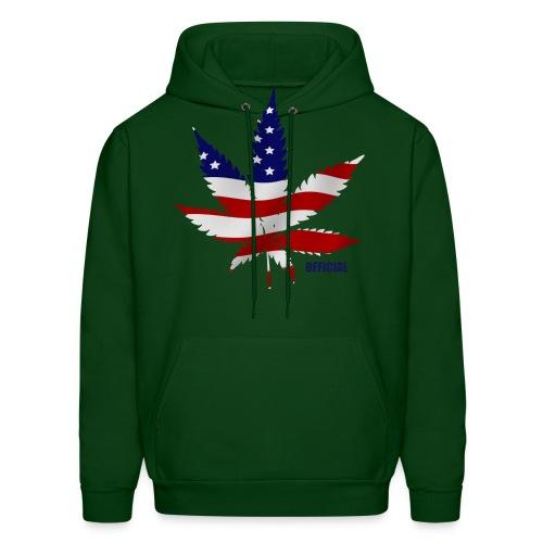 Flag Leaf Sweatshirt - Men's Hoodie
