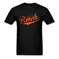 T-Shirts ~ Men's T-Shirt ~ RMNB Alt Logo Men's Black T-Shirt