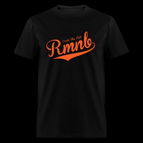 RMNB Alt Logo Men's Black T-Shirt - Men's T-Shirt