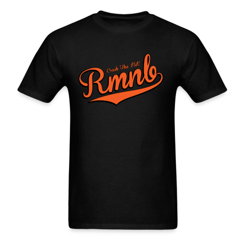 RMNB Alt Logo Men's Black T-Shirt - Men's T-Shirt