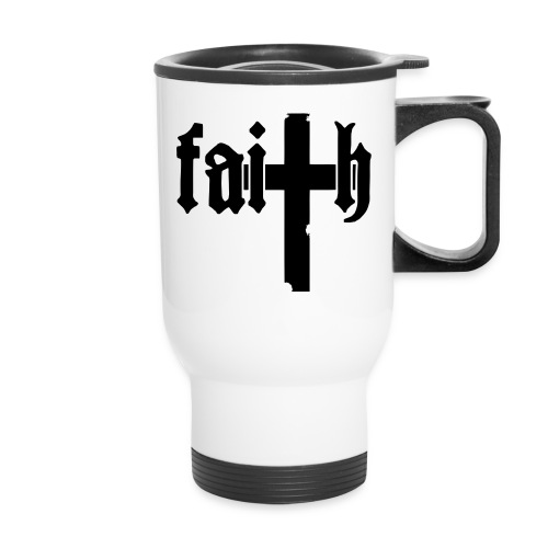 Faith thermal mug - Travel Mug