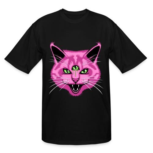 Third eye cat tee - Men's Tall T-Shirt