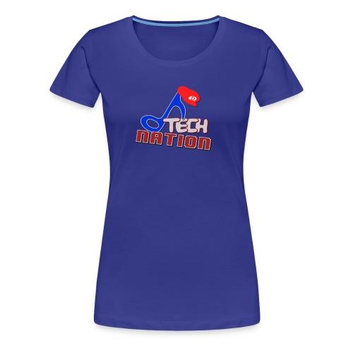 DTechNation Woman's T-Shirt - Women's Premium T-Shirt